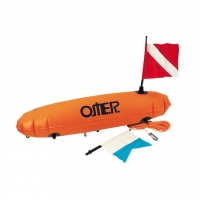 Poi Torpedo float with red/alfa flag OMER